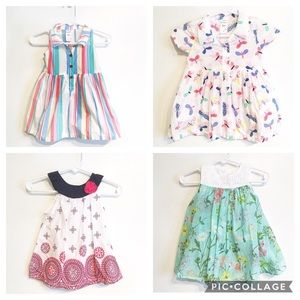 Baby Girl Floral Butterfly Dress Bundle
